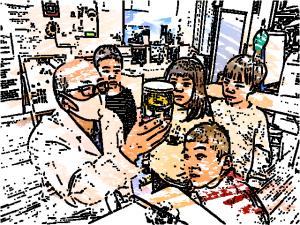 第3回 STEM保育 水と油と絵具のコラボ